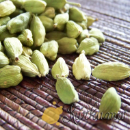 Зеленый кардамон цельный 50 грамм