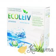 """Экологический cтиральный порошок """"для белого белья"""" (ECOLEIV WHITE) 1,25 кг"""