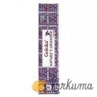 "Благовония ""Голока с ароматом лаванды"" 15 гр (Goloka Lavender)"
