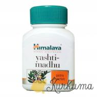 """""""Яштимахду"""" от """"Гималаи"""", 60 капсул (Himalaya Yashtimadhu)"""