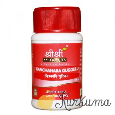 «Канчнар Гуггул» от компании «Шри Шри Аюрведа»  30 таблеток (Sri Sri Ayurveda Ka