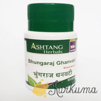 Брингарадж Гхан вати 60 таб (Bhungaraj Ghan vati Ashtang Herbals)