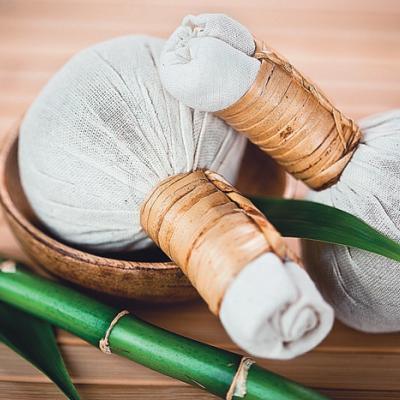 Травяные мешочки для массажа Колакулатхади, 200гр (цена за 1шт)