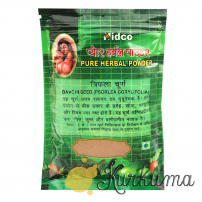"""Бакучи"" чурна ""Нидко"",  50 грамм  (Bakuchi powder Nidco/Bavchi seed Psorlea Cor"