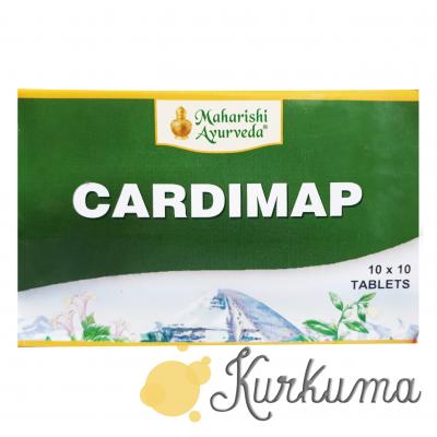 """""""Кардимап"""" от компании """"Махариши Аюрведа"""", 100 таблеток"""