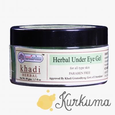 """Гель для кожи вокруг глаз """"Кхади"""", 50 грамм"""