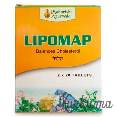 Липомап Махариши Аюрведа (Lipomap Maharishi Ayurveda) 40 таб.