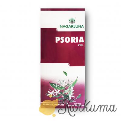"Псория масло 100 мл ""Нагарджуна"" (Psoria Oil Nagarjuna)"