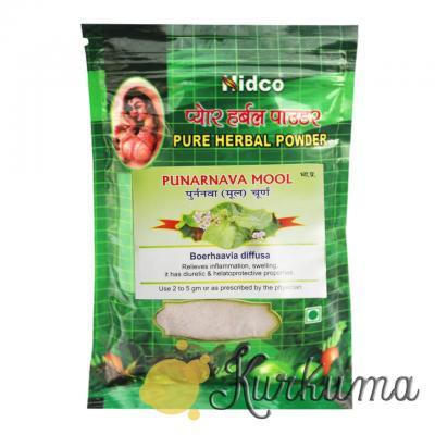 """""""Пунарнава"""" от компании «Нидко», 50 грамм (Punarnava Nidco) Для здоровья почек"""