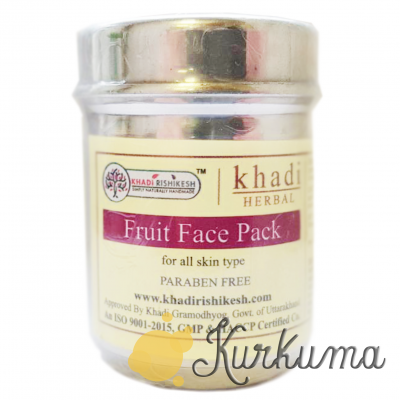"Маска для лица ""Кхади фруктовая"", 50 грамм (Khadi Herbal Fruit Face Pack)"