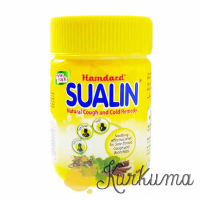"""""""Суалин"""" от боли в горле, производитель """"Хамдард"""", 60 таб (Sualin Hamdard)"""