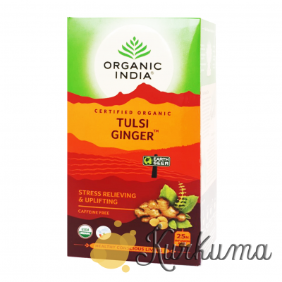 "Чай ""Туласи имбирный"" 25 пакетиков (Tulsi Ginger tea)"