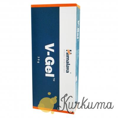 """Вагинальный гель от """"Гималаи"""", 30 грамм (V-gel  himalaya)"""